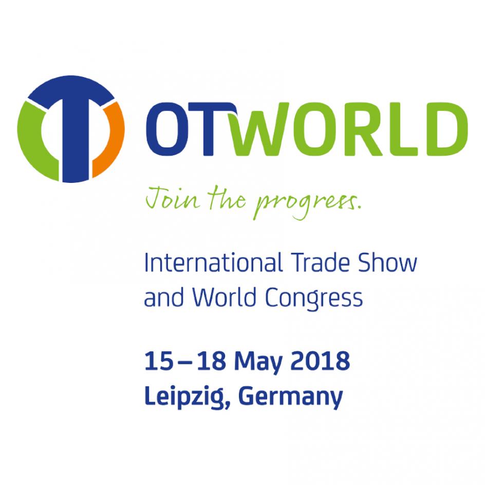 在德国举办的展览会「OTWORLD2018」上出展