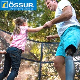 OSSUR社製品ホームページ
