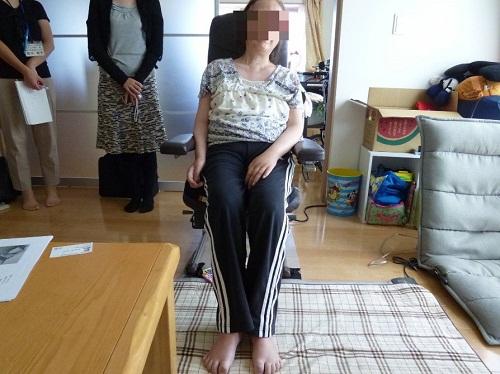 姿勢保持の評価イメージ図