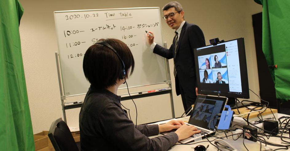 KAWAMURAグループ コロナ禍においてのオンラインの取り組み