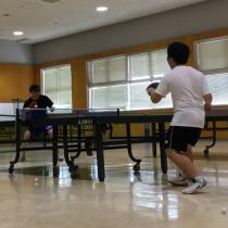 ターボメドとともに夢に向かって卓球に打ち込む日々